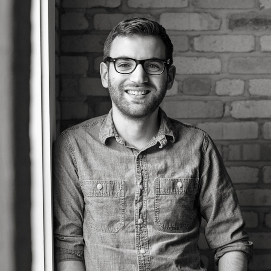 Image of Kevin Stachura, founder of Helium Creative Studio